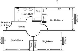 Governors Hall floor plan