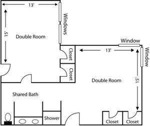 West Ridge Hall floor plan